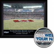 Toronto Blue Jays 11 x 14 Personalized Framed Stadium Print