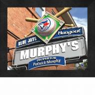 Toronto Blue Jays 11 x 14 Personalized Framed Sports Pub Print