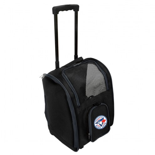 Toronto Blue Jays Premium Pet Carrier with Wheels