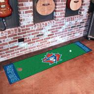 Toronto Blue Jays Golf Putting Green Mat