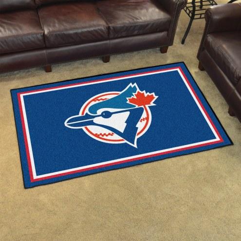 Toronto Blue Jays 4' x 6' Area Rug