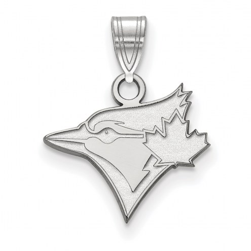 Toronto Blue Jays Sterling Silver Small Pendant