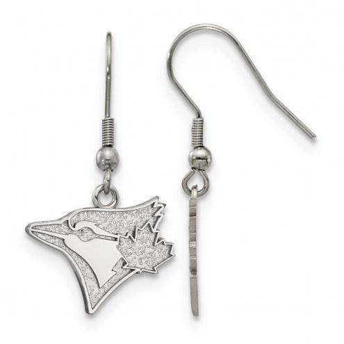 Toronto Blue Jays Stainless Steel Dangle Earrings