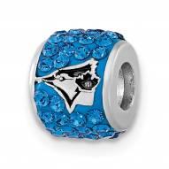 Toronto Blue Jays Sterling Silver Charm Bead