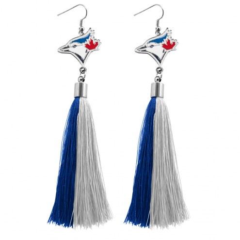 Toronto Blue Jays Tassel Earrings