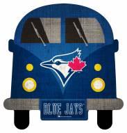 Toronto Blue Jays Team Bus Sign