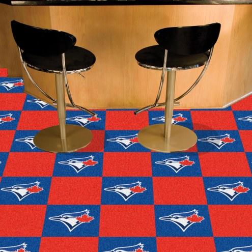 Toronto Blue Jays Team Carpet Tiles