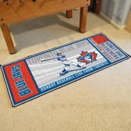 Toronto Blue Jays Ticket Runner Rug