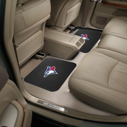 Toronto Blue Jays Vinyl 2-Piece Rear Floor Mats