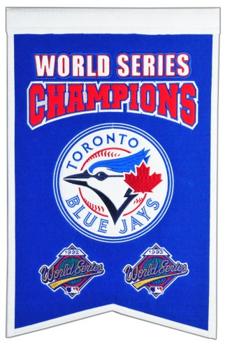 Toronto Blue Jays Champs Banner