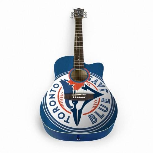 Toronto Blue Jays Woodrow Acoustic Guitar