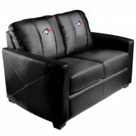 Toronto Blue Jays XZipit Silver Loveseat with Secondary Logo
