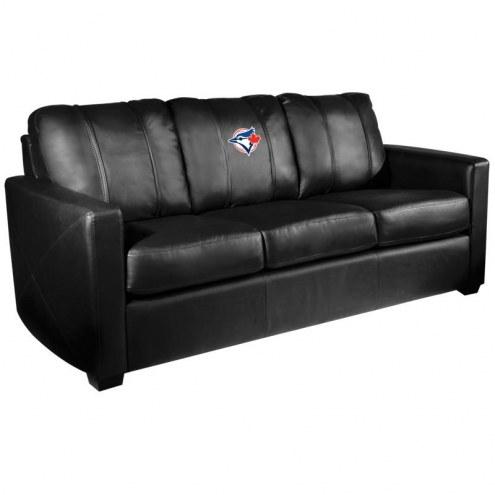 Toronto Blue Jays XZipit Silver Sofa with Secondary Logo