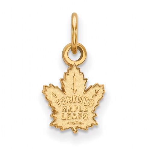 Toronto Maple Leafs 10k Yellow Gold Extra Small Pendant