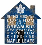 "Toronto Maple Leafs 12"" House Sign"