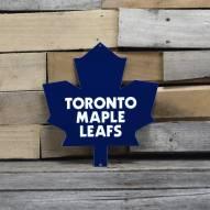"Toronto Maple Leafs 12"" Steel Logo Sign"