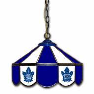 "Toronto Maple Leafs 14"" Glass Pub Lamp"
