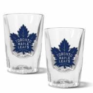 Toronto Maple Leafs 2 oz. Prism Shot Glass Set