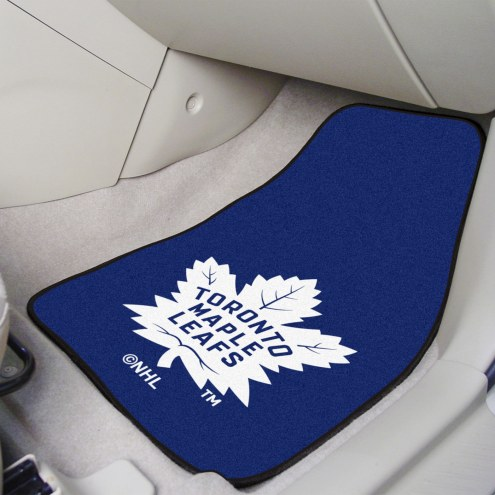 Toronto Maple Leafs 2-Piece Carpet Car Mats
