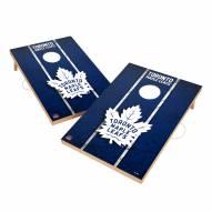 Toronto Maple Leafs 2' x 3' Vintage Wood Cornhole Game