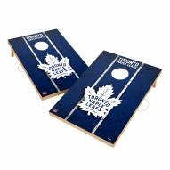 Toronto Maple Leafs 2' x 3' Vintage Wood Cornhole Game