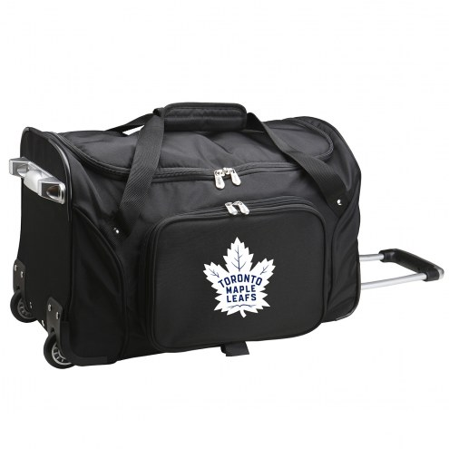 "Toronto Maple Leafs 22"" Rolling Duffle Bag"