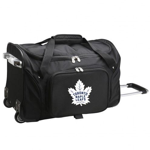 "Toronto Maple Leafs 22"" Rolling Duffle Bag"