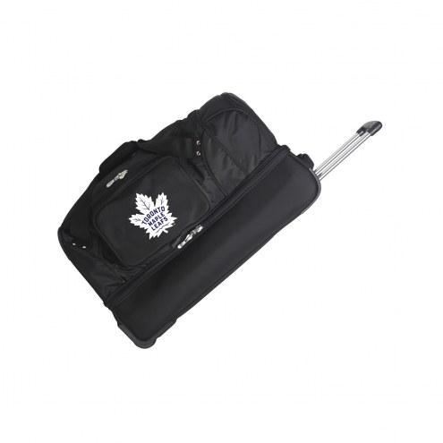 "Toronto Maple Leafs 27"" Drop Bottom Wheeled Duffle Bag"