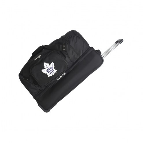"Toronto Maple Leafs 27"" Drop Bottom Wheeled Duffle Bag"