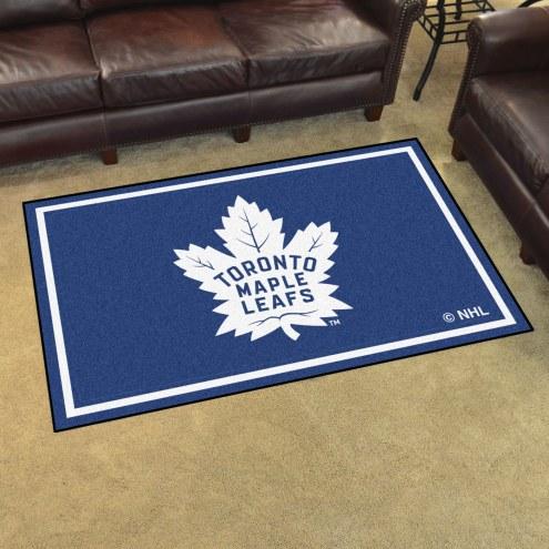 Toronto Maple Leafs 4' x 6' Area Rug