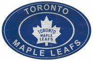 "Toronto Maple Leafs 46"" Heritage Logo Oval Sign"