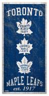 "Toronto Maple Leafs 6"" x 12"" Heritage Sign"