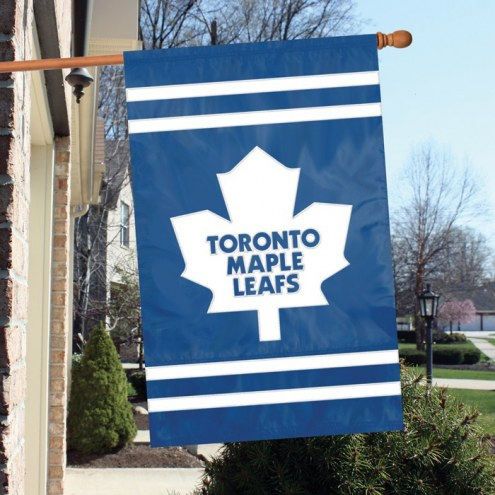 Toronto Maple Leafs Applique Banner Flag