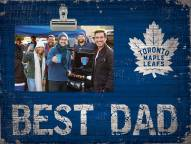 Toronto Maple Leafs Best Dad Clip Frame