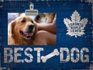 Toronto Maple Leafs Best Dog Clip Frame