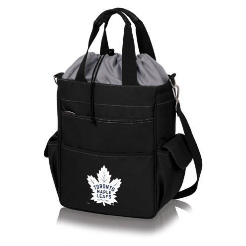 Toronto Maple Leafs Black Activo Cooler Tote