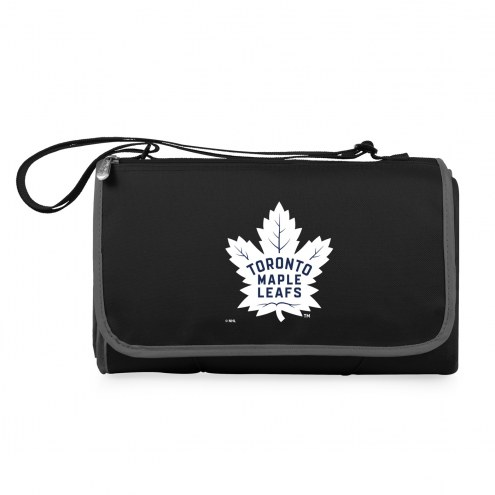 Toronto Maple Leafs Black Blanket Tote