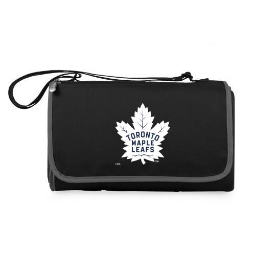 Toronto Maple Leafs Black Blanket Tote