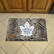 Toronto Maple Leafs Camo Scraper Door Mat