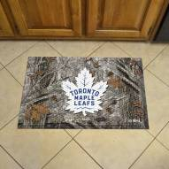 Toronto Maple Leafs Camo Scraper Door Mat