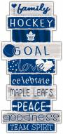 Toronto Maple Leafs Celebrations Stack Sign
