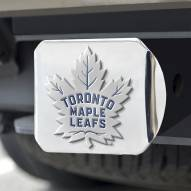Toronto Maple Leafs Chrome Color Hitch Cover