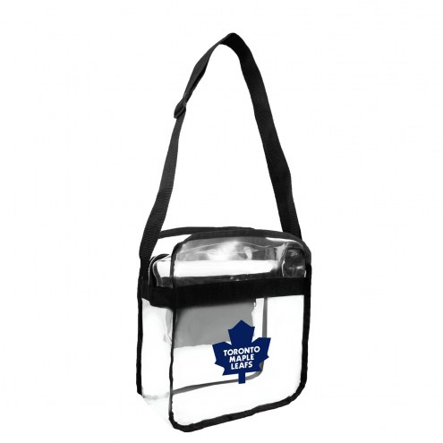 Toronto Maple Leafs Clear Crossbody Carry-All Bag