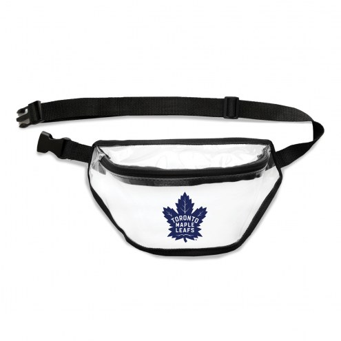 Toronto Maple Leafs Clear Fanny Pack