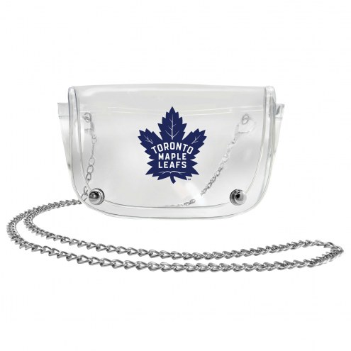 Toronto Maple Leafs Clear Waistpack