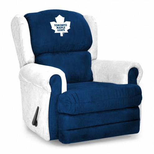 Toronto Maple Leafs Coach Recliner