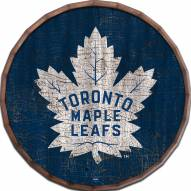 "Toronto Maple Leafs Cracked Color 16"" Barrel Top"