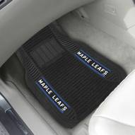 Toronto Maple Leafs Deluxe Car Floor Mat Set