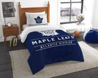 Toronto Maple Leafs Draft Twin Comforter Set