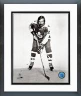 Toronto Maple Leafs Eddie Shack Posed Framed Photo
